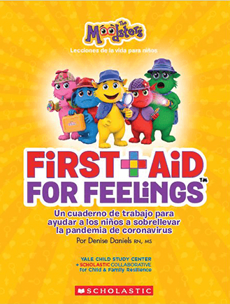 Cover of Moodsters First Aid for Feelings Book - Spanish