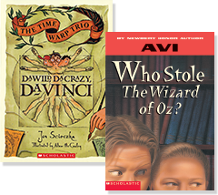 Fiction focused 2nd edition scholastic guided reading program books davinci and who stole the wizard of oz fandeluxe Choice Image