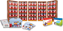 Leveled Bookroom bookshelves and products