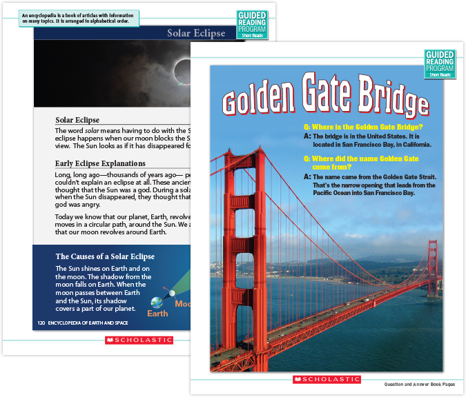 Guided reading short reads scholastic guided reading program view sample page fandeluxe Gallery