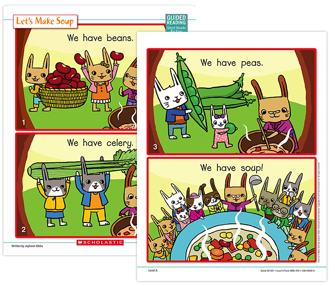 Guided Reading Short Reads Fiction Scholastic Guided Reading Program