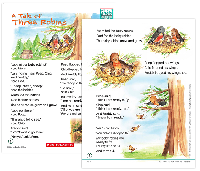 Guided Reading Short Reads Fiction Scholastic Guided