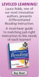 Laura Robb presents Differentiated Reading Instruction