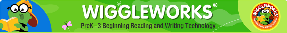 WiggleWorks® Grades K-3 Beginning Reading and Writing Technology